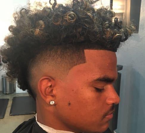 Afro Taper Fade Haircut 2018