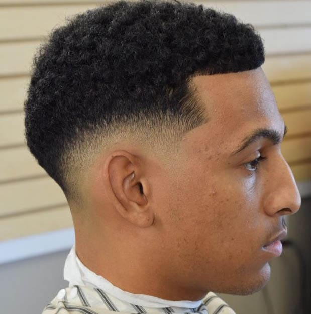Afro Taper Fade Haircut 2018