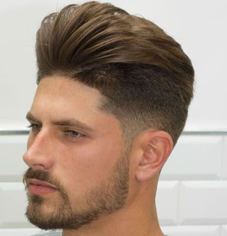 33 Cool Pompadour Fade Haircut 2018 - New Haircut Style