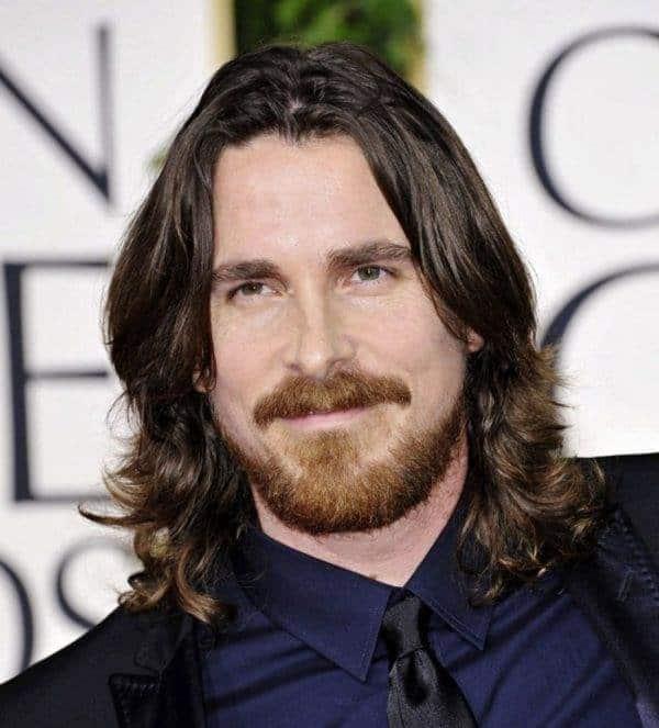 men's long hairstyle