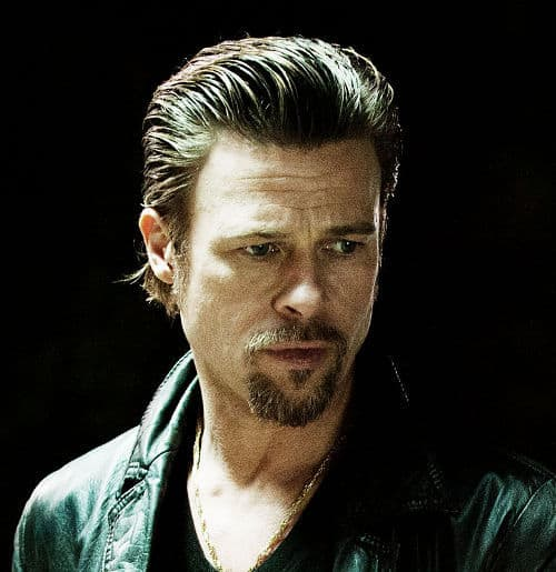 Picture of Brad Pitt hairstyle in Killing Them Softly.