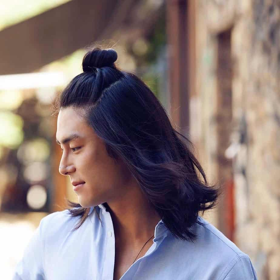 15 Unique Man Bun Hairstyles For Asian Men 2018 2019 New