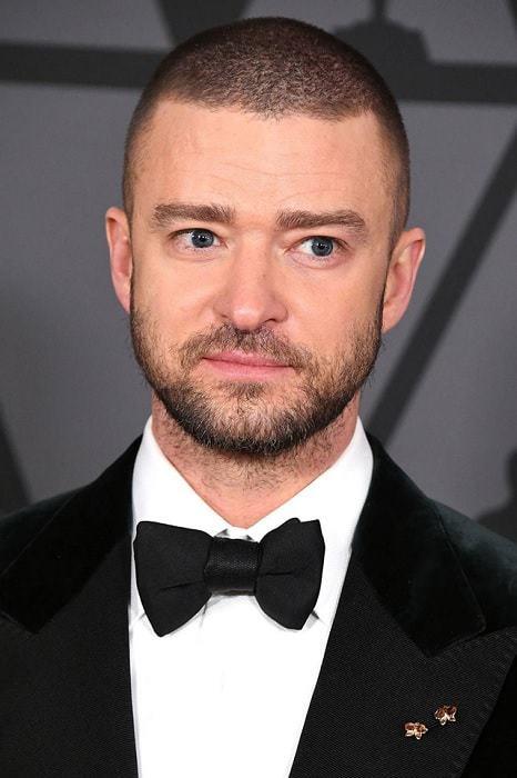 Justin Timberlake's Buzz Cut