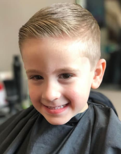 40 Cool Little Boy Haircuts 2018