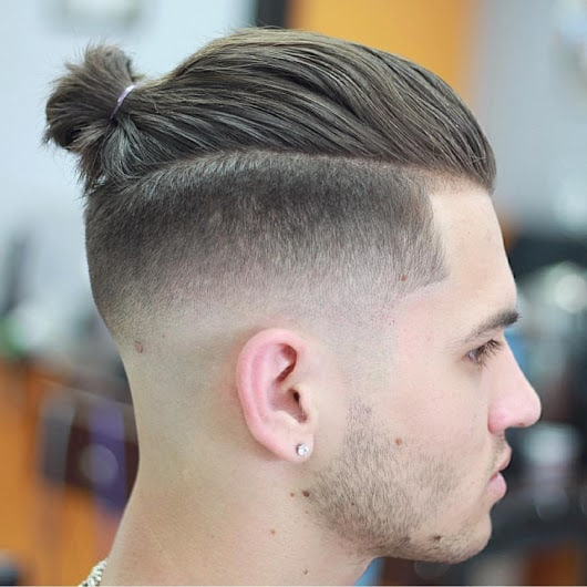 man bun for teenage boys