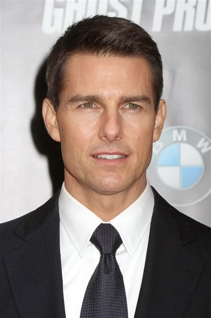 tom cruise short hairstyle