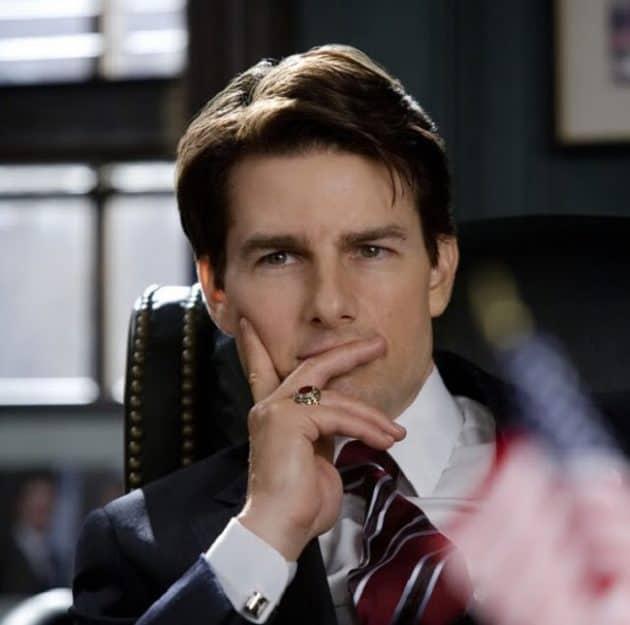 Tom Cruise Tapered Hairdo