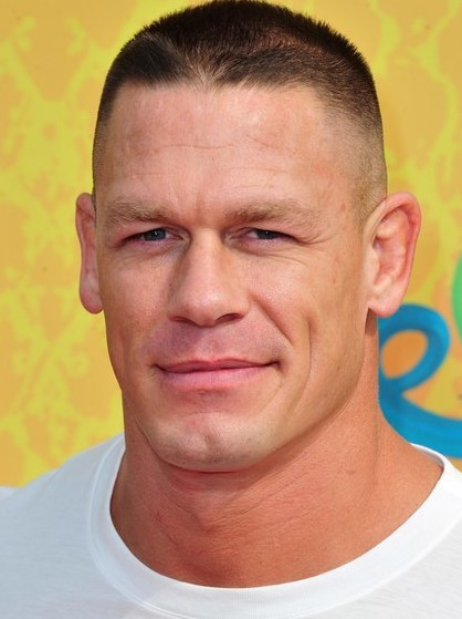 John Cena Mohawk Undercut Style