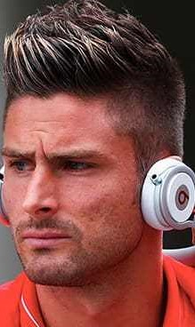 Olivier Giroud Haircut blonde