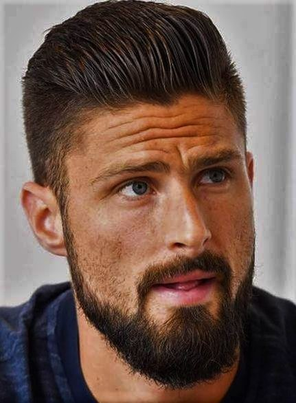 Olivier Giroud Haircut on world cup