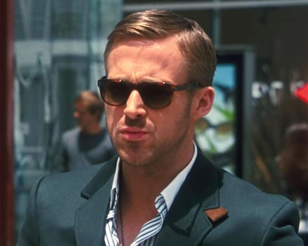 Ryan Gosling Retro Comb on Sides