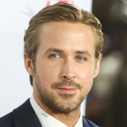 Side Comb Haircut Ryan Gosling